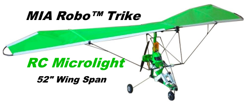 RC Microlights – Unique RC Model Airplane Ultralight